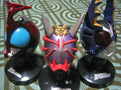 仮面ライダー マスクコレクション